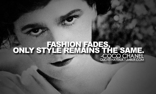 Coco Chanel Makeup Quotes Quotesgram